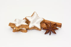Cinnamon Stars Stock Photos