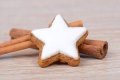 Cinnamon stars Royalty Free Stock Photography