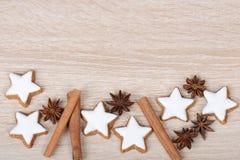 Cinnamon stars Stock Images