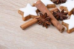 Cinnamon stars Royalty Free Stock Image