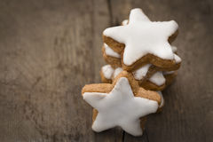 Cinnamon Stars Royalty Free Stock Images