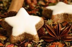 Cinnamon Stars Royalty Free Stock Photo