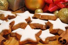 Cinnamon stars Stock Photos
