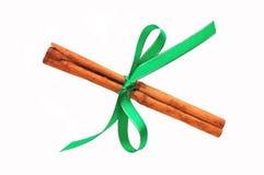 Cinnamon stick � Christmas decoration Royalty Free Stock Images