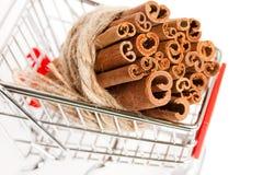 Cinnamon stick Royalty Free Stock Photos