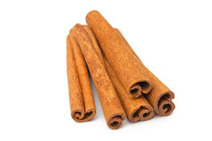 Cinnamon stick Stock Images