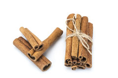 Cinnamon stick bunch Royalty Free Stock Image