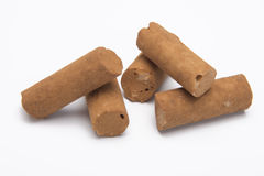 Cinnamon stick candy. Old dutch candy with a cinnamon taste Stock Photo