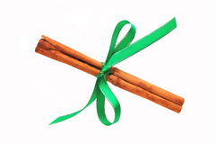 Cinnamon stick – Christmas decoration Royalty Free Stock Images