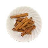 Cinnamon Stick Group Top View In Bowl Stock Images