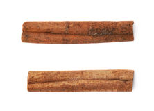 Cinnamon stick isolated Stock Images