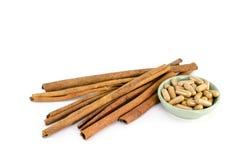 Cinnamon stick Royalty Free Stock Image