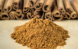 Cinnamon stick Royalty Free Stock Photo
