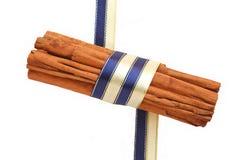 Cinnamon sticks � Christmas decoration Royalty Free Stock Photos