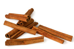 Cinnamon sticks. Cinnamon stick isolated on white background Stock Image
