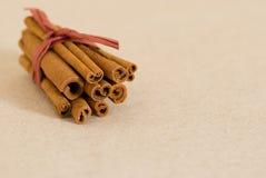 Cinnamon sticks Royalty Free Stock Images