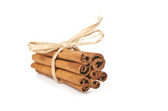 Cinnamon sticks Stock Images