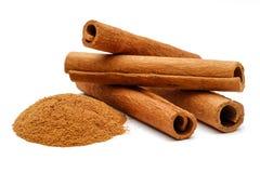 Free Cinnamon Sticks And Powder Stock Images - 103699464