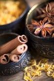 Cinnamon Sticks And Star Anise Stock Image