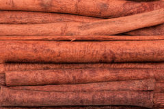 Cinnamon Sticks Background Stock Image
