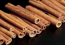 Cinnamon sticks Stock Images