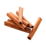 Cinnamon Sticks with Clipping Path Stock Photos