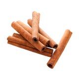Cinnamon Sticks with Clipping Path Stock Photos