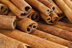 Cinnamon sticks Royalty Free Stock Photography