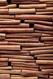 Cinnamon sticks closeup. Stock Photo