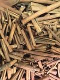 Cinnamon sticks flavor. Cinnamon spice alcohol Stock Photo