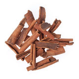 Cinnamon sticks isolated Stock Image
