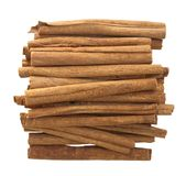 Cinnamon Sticks Isolated Royalty Free Stock Image