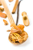 Cinnamon Sticks, On White - Tight Depth Of Field Royalty Free Stock Images