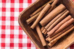 Cinnamon sticks spice. Royalty Free Stock Images