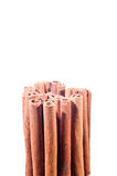 Cinnamon sticks stacked vertical Stock Photography