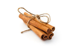 Free Cinnamon Sticks Tied Up Royalty Free Stock Image - 37482226