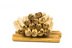 Cinnamon sticks 7 Royalty Free Stock Images