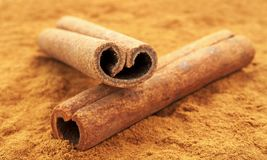 Cinnamon still life Stock Photography