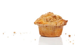 A Cinnamon streusel muffin Royalty Free Stock Images