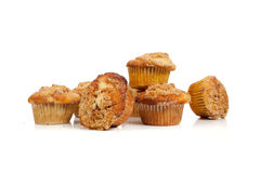 Cinnamon streusel muffins Stock Photo