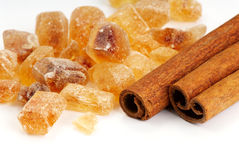 Cinnamon and sugar Stock Photo
