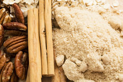 Cinnamon and Sugar Stock Image