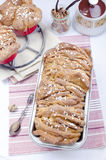 Cinnamon Sugar Pull-Apart Bread Stock Photography