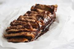 Cinnamon pull-apart bread. Cinnamon Sugar Pull-Apart Bread stock images