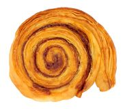 Cinnamon Sweet Pastry Roll Royalty Free Stock Photo