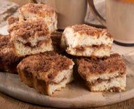Cinnamon Swirl Crumb Cake Royalty Free Stock Photo