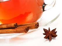 Cinnamon tea Stock Photography