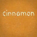 Cinnamon texture Stock Image