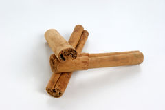 Cinnamon to use as spice Stock Image
