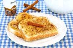 Cinnamon Toast Stock Image